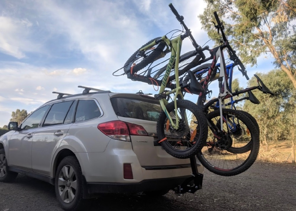 Shingleback Vertical Bike Rack | Subaru Outback