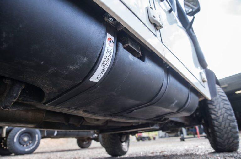 Long Range Poly Tank for Land Rover Defender | Shingleback Off Road