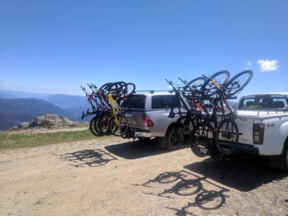 Shingleback Vertical Bike Rack | HiLux and Isuzu Ute