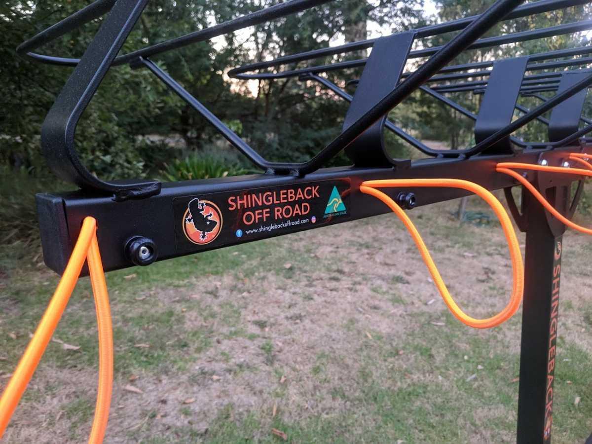 Shingleback Vertical Bike Rack | Shingleback Off Road