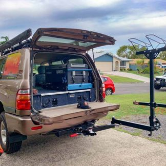 need time away - shingleback swing arm rack