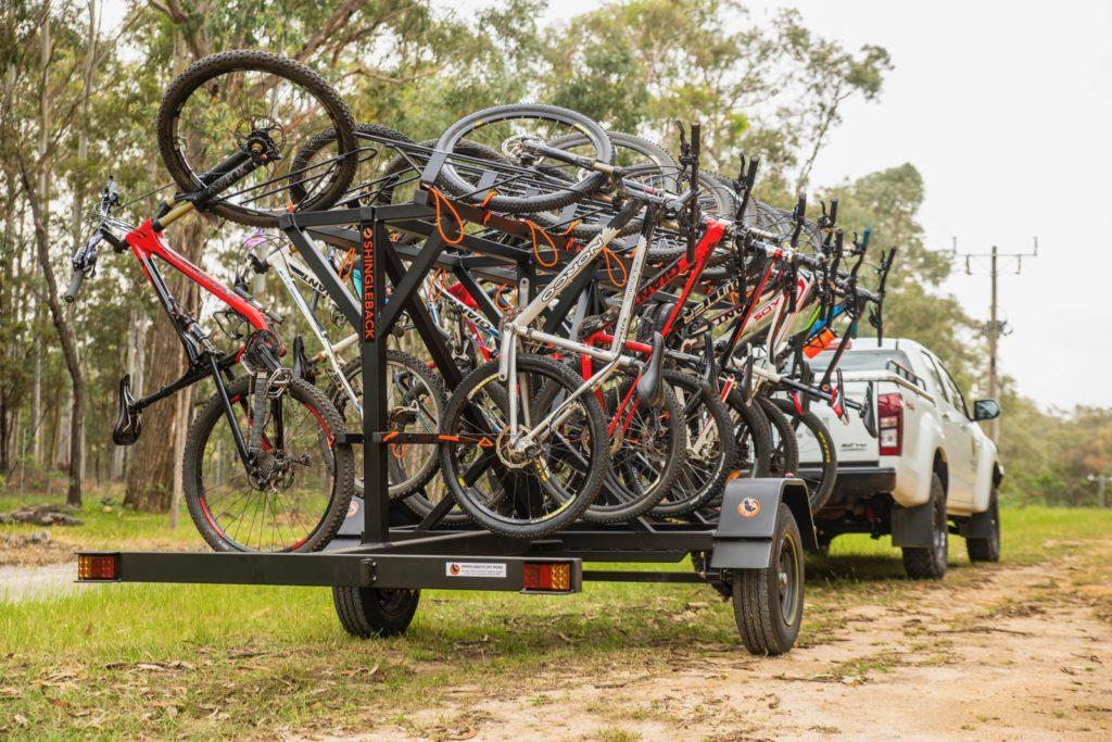 Shingleback Custom-Made Bike Trailers | Shingleback Off Road