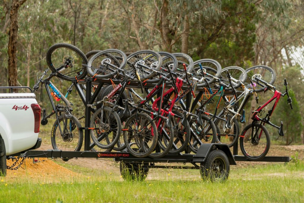 Shingleback Custom-Made Bike Trailers | Shingleback Off Road