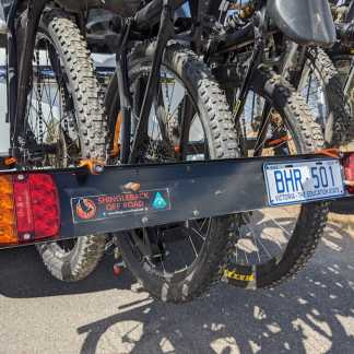 New Shingleback Light Board for MTB Rack