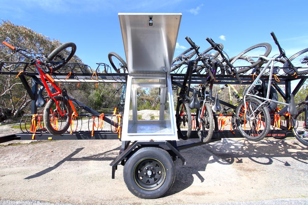 Mountain Bike Shuttle Trailer