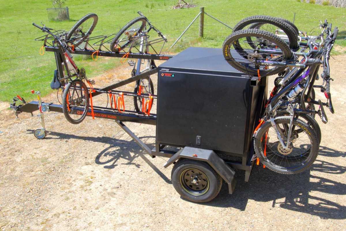 Custom Mountain Bike Shuttle Trailer - Made in Australia - Shingleback Off Road