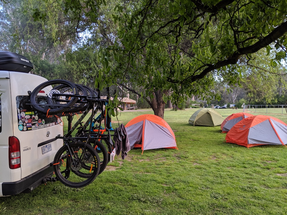 Camping on the Great Vic Rail Trail