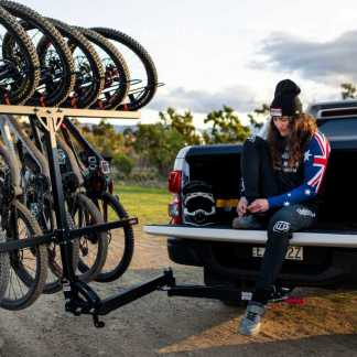 Swing Arm Vertical Bike Rack