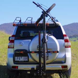 4 Bike Rack For 4x4 Toyota - Shingleback Off Road