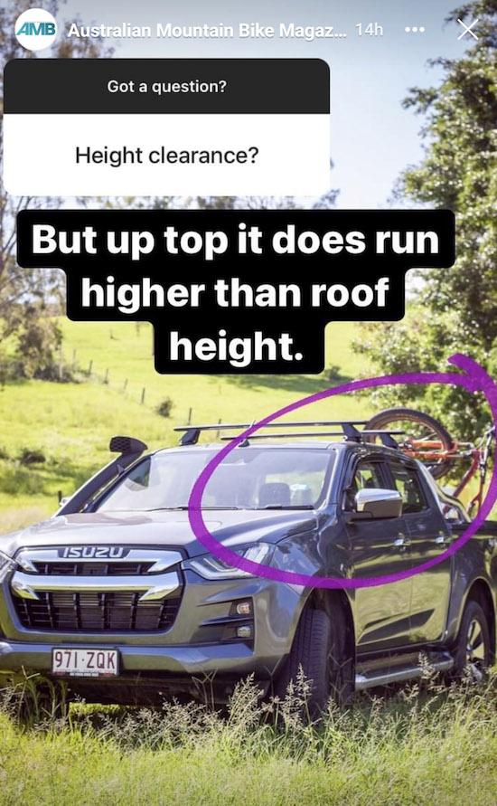 Shingleback 2B90 height clearance question