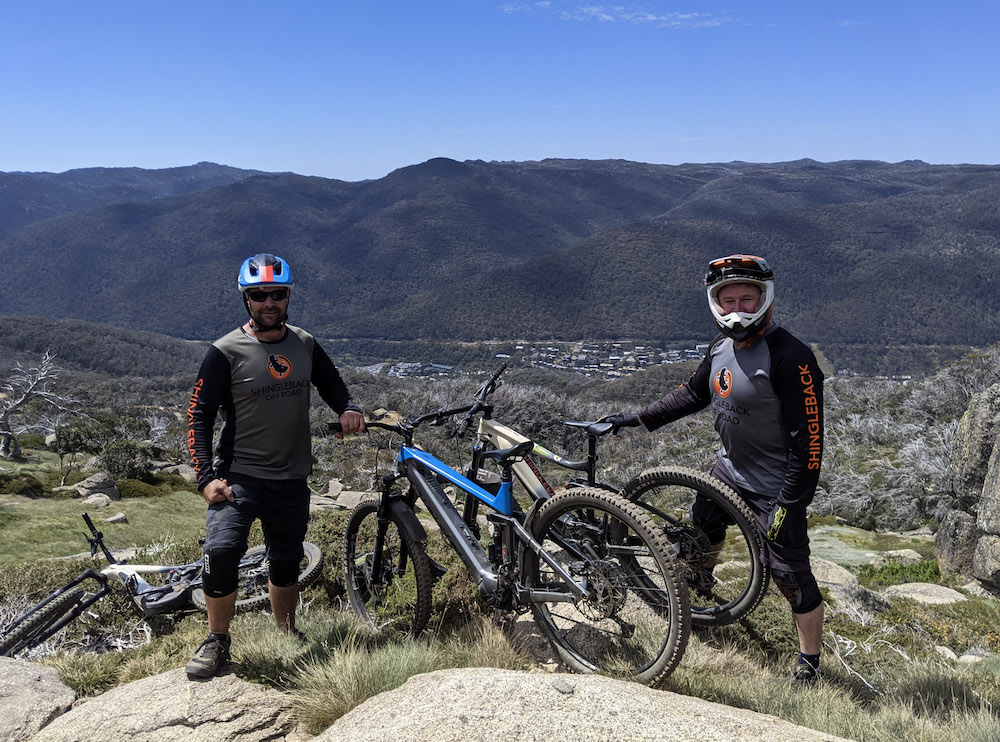 Mountain Biking at Thredbo's All Mountain Trail