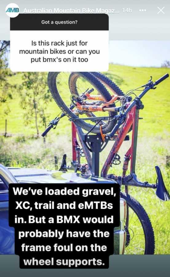 2B90 BMX question answered
