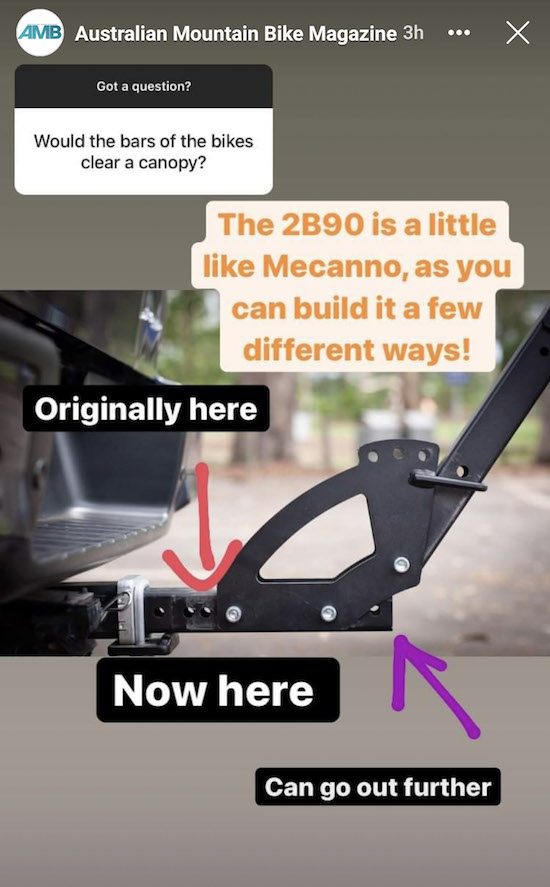 2B90 Ute Canopy Clearance Question Answered