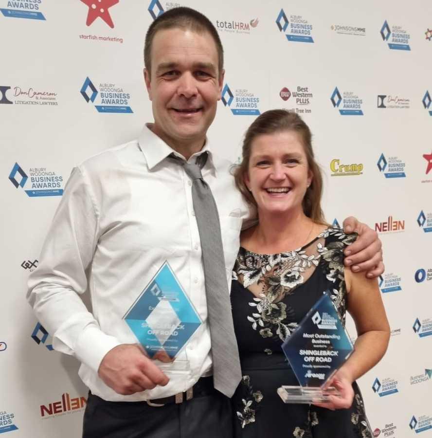 Albury Wodonga Business Award Winners 2021 - Shingleback Off Road