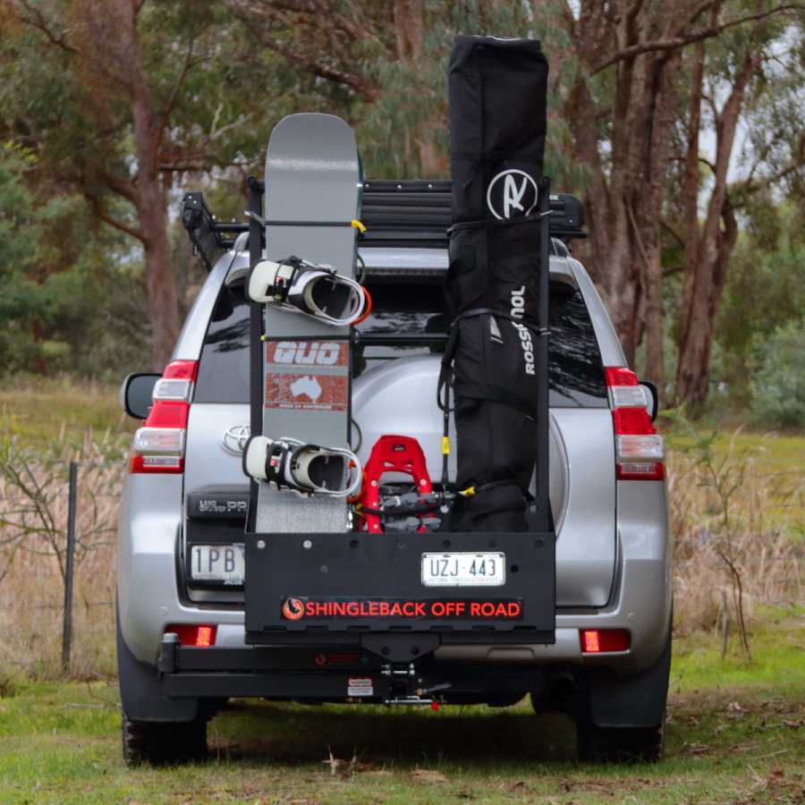 New Shingleback Caddy - Ski & Snowboard Rack Australia